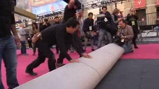 Despliegan alfombra roja para los Oscar