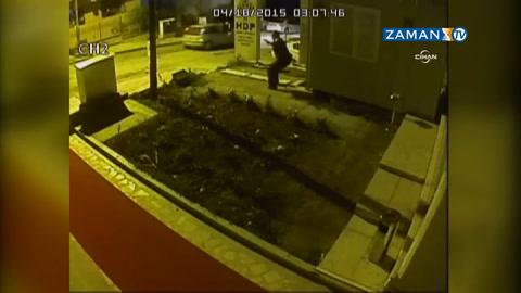HDP Genel Merkezi'ne saldırı güvenlik kamerasında