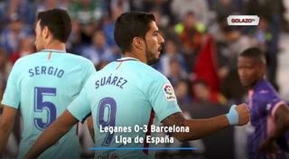 Leganes 0-3 Barcelona (Liga de España)