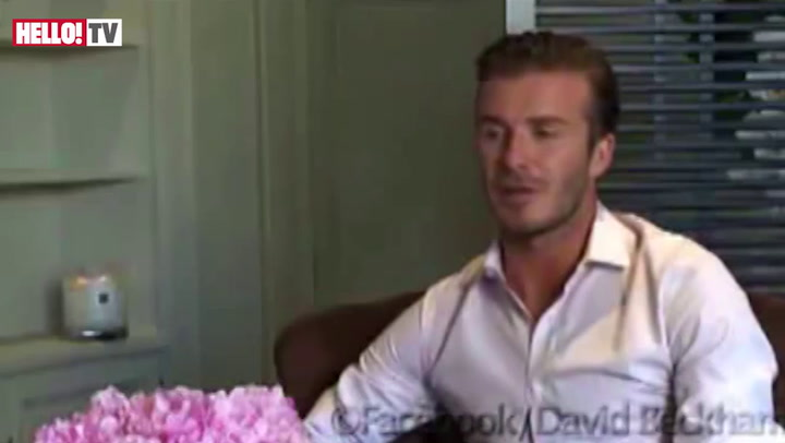 David Beckham speaks out about his new baby girl