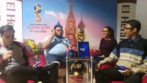 ZONA RUSA correspondiente al 22 de junio de 2018