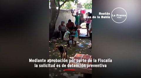 Roatán: Mujeres obligan a niñas a que se