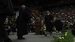 Summer 2013 commencement ceremony at Florida State University