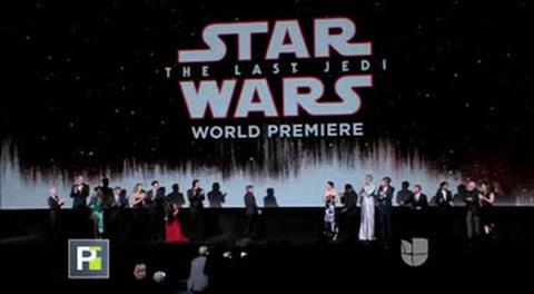 Así fue la gala de 'Star Wars: The Last Jedi' y sus actores nos revelaron algunos secretos