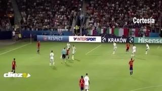 Ñiguez deja burlado a Donnarumma en el Europeo Sub-21 y le anota triplete