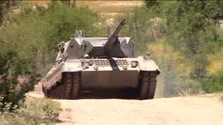 Disparar un tanque de guerra, opción turística en Texas