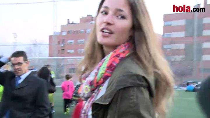 Malena Costa: \'Estoy muy orgullosa de Mario\'