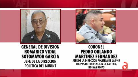 ¿Quienes son los nuevos militares cubanos sancionados por la Administración Biden?