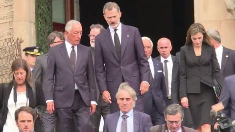 Barcelona homenajeó a las víctimas de los atentados