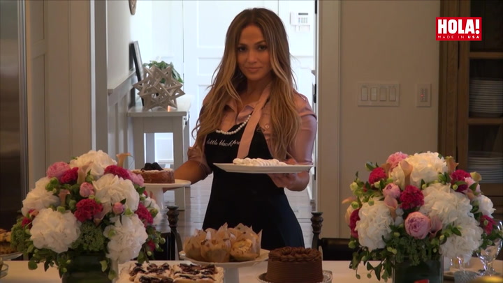 JLo in the kitchen of her dream home