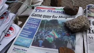Partido gobernante en Zimbabue destituirá a Mugabe si no dimite