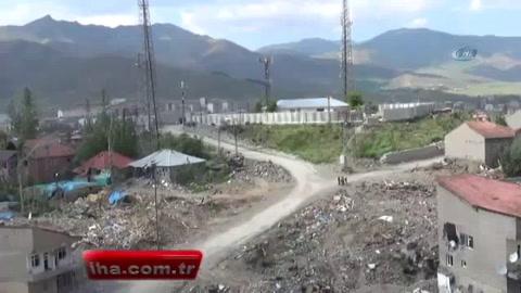 Yüksekova'da artık çukurlar kazılamayacak
