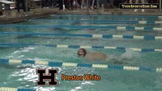 White Wins Regional 100 Yard Butterfly