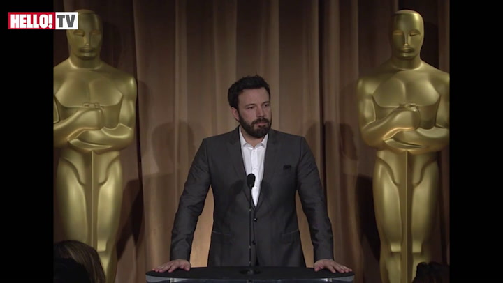 Ben Affleck on his love for his film Argo Part I