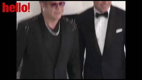 Backstage pass to Elton John\'s Oscar party