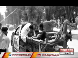 بنوں میں اکرم خان درانی کے قافلے کے قریب بم دھماکا، 5 افراد جاں بحق