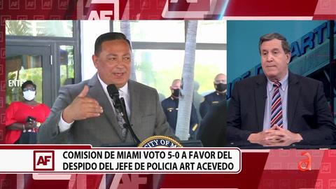 Conversamos con el comisionado Joe Carollo sobre el despido de Art Acevedo