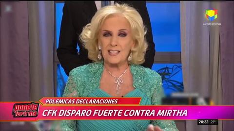 Mirtha durísima con CFK: Mala persona es dejar un país como lo dejó