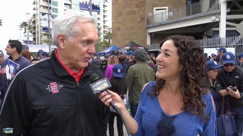 Rocky Long on San Diego fans & why Pumphrey is special