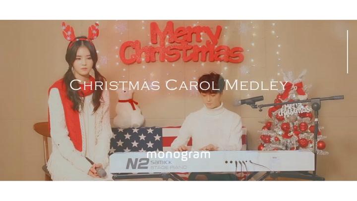[Music] Monogram's Christmas carol medley