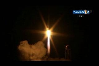NASA roketi böyle infilak etti