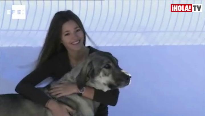 Malena Costa nos anima a adoptar una mascota estas navidades