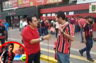 Hincha tico quiere a Roger Rojas en Alajuelense para toda la vida