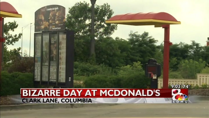 Woman turns herself in as a missing person at local McDonald\'s