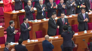 Parlamento chino elige por unanimidad a Xi para segundo mandato