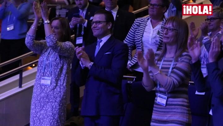 El príncipe Daniel de Suecia... ¡el rey del baile al ritmo de Jennifer López!