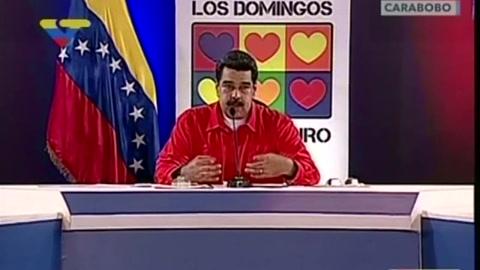 Maduro acusa a opositores por