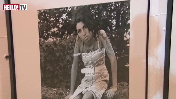 Mitch Winehouse launches a new exhibition in honour of Amy