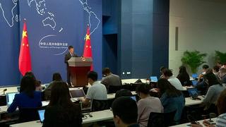 China pide gestos de