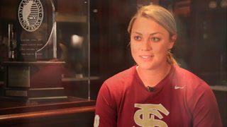 Florida State Softball Player to be all she can be