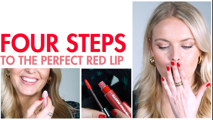 4 tips for perfect red lips