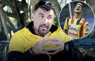 Técnico de Real España, Tato García alucina hablando de Ángel Tejeda