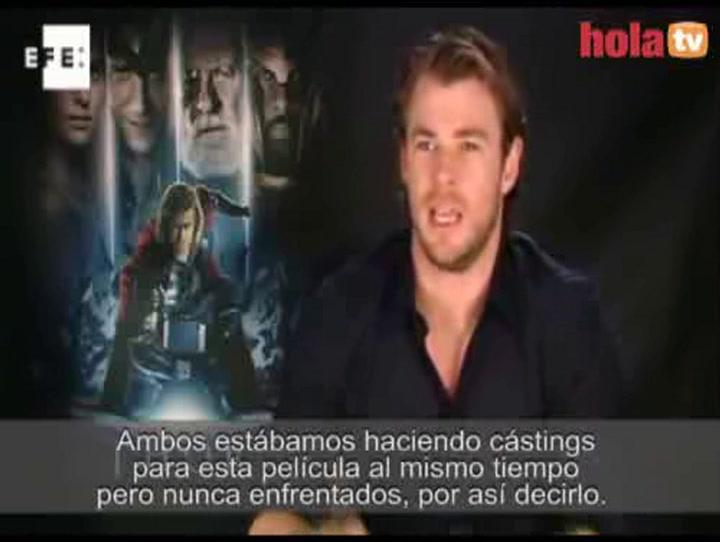 Chris Hemsworth, marido de Elsa Pataky, visita España para presentar su nueva película, \'Thor\'