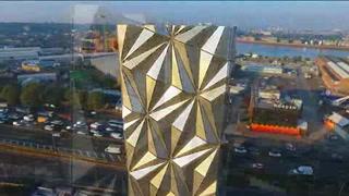 'El manto óptico', nueva obra de Shawcross en Londres