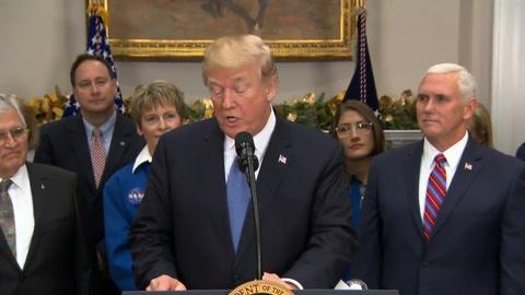 EEUU enviará hombres a la Luna como paso previo a Marte