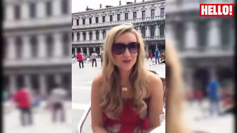 Corrie\'s Catherine Tyldesley talks engagement and pregnancy with HELLO! in Venice