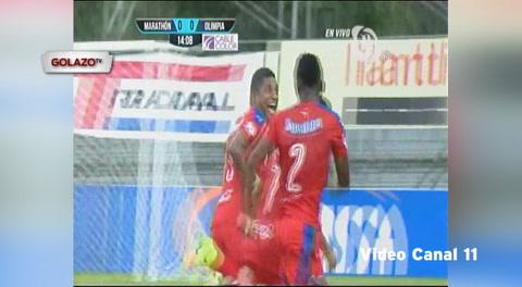 Marathón 1 - 2 Olimpia (Liga Nacional de Honduras)