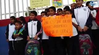 Niños piden a maestros volver a clases en Oaxaca