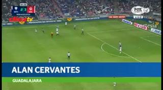 Golazo de Michaell Chirinos a Pumas entre los mejores de la jornada en México