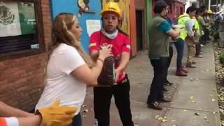 Solidaridad desbordada en México tras potente terremoto