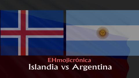 EHmojicrónica: Islandia le amarga la fiesta a Argentina en su debut