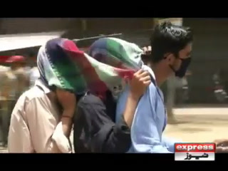 کراچی میں قیامت خیز گرمی، پارہ 44 ڈگری تک جا پہنچا