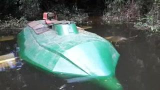 Un submarino eléctrico, nuevo medio para transportar cocaína