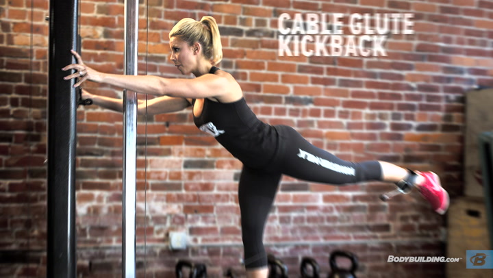 Booty Building Glute Workout | Janelle Saitone-McGuire IFBB Bikini Pro
