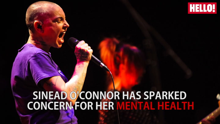 Sinead O\'Connor has sparked concern for her mental health