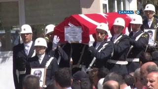 Şanlıurfa´da şehit olan polisler, törenle memleketine uğurlandı